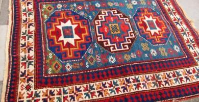 Moghan Kazak rug James Cohen
