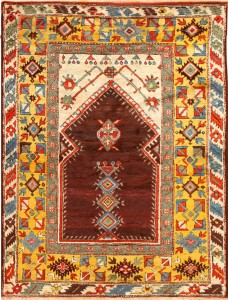 Nazmiyal turkish-melas-prayer-rug-48722-detail