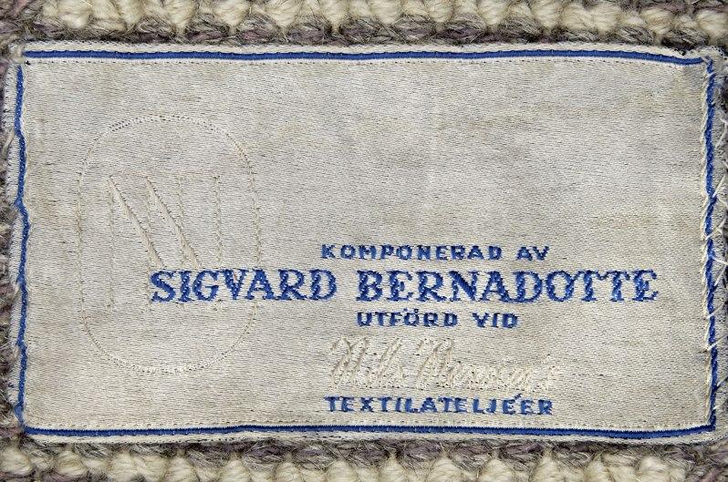 Bernadotte label NIs Nessims4527n2