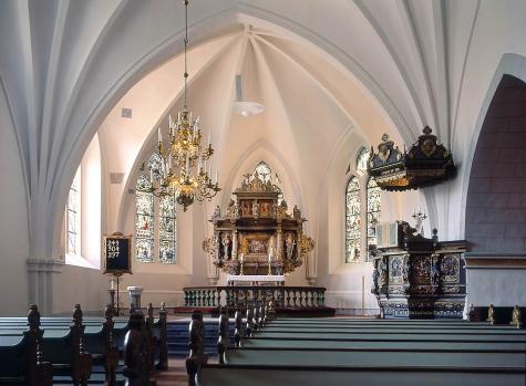 Hörby kyrka 1998 summer Åke Johansson