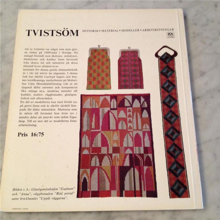 MalmäLH Kerstin M? Tvistöm book by Gertrude Inge:::Ernst Fischer Tradera.net 6_15_17