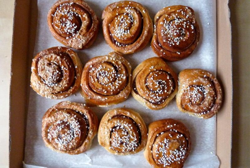 17.Kanelbullar photo by Magnus_D from thespruce.com