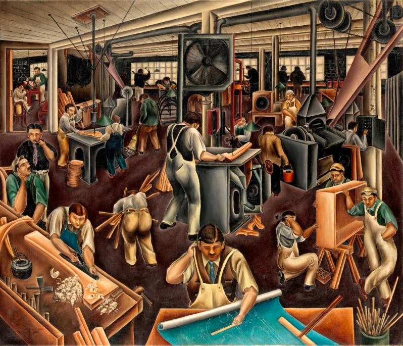 6.The Furniture Factory Bumpei Usui, 1925 Screen Shot 2017-12-01 at 11.54.29 AM