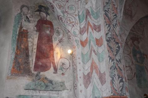 3c.Litslena fresco decoration photo Tom Wollecki via Kyrkokartan