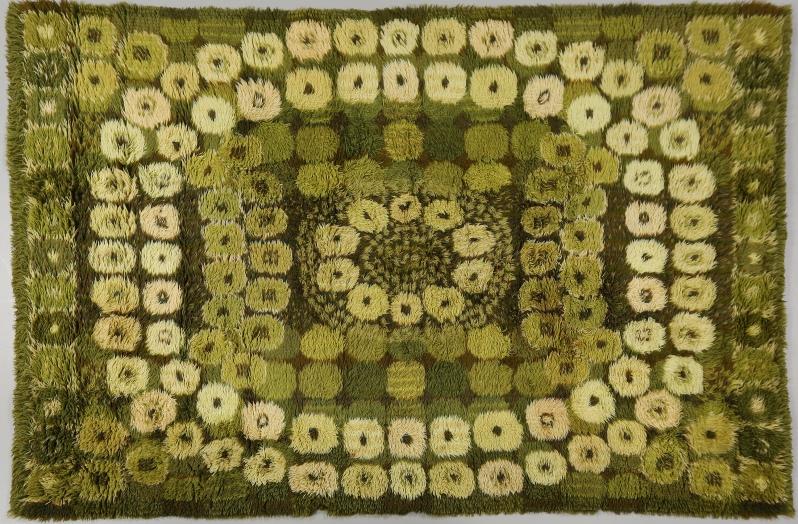 """38 """"Brokind"""" Rya, Marianne Richter, """"Östergyllen""""-serien, 225 x 165.Buk 11 20 14"""