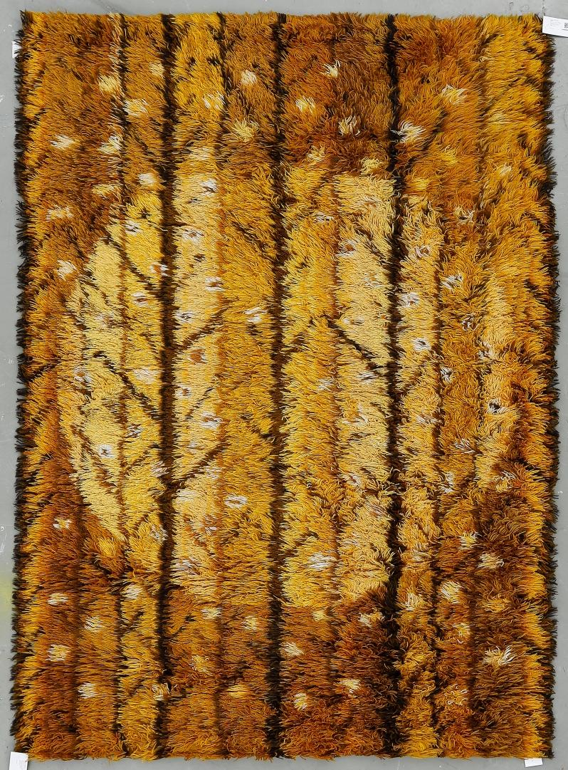 """58 """"Trollskog"""", Marianne Richter, AB Wahlbecks fabriker, 1960 70-tal. Formgiven omkring 1969.. Ca 193x139 cm.Buk 3 18 15"""
