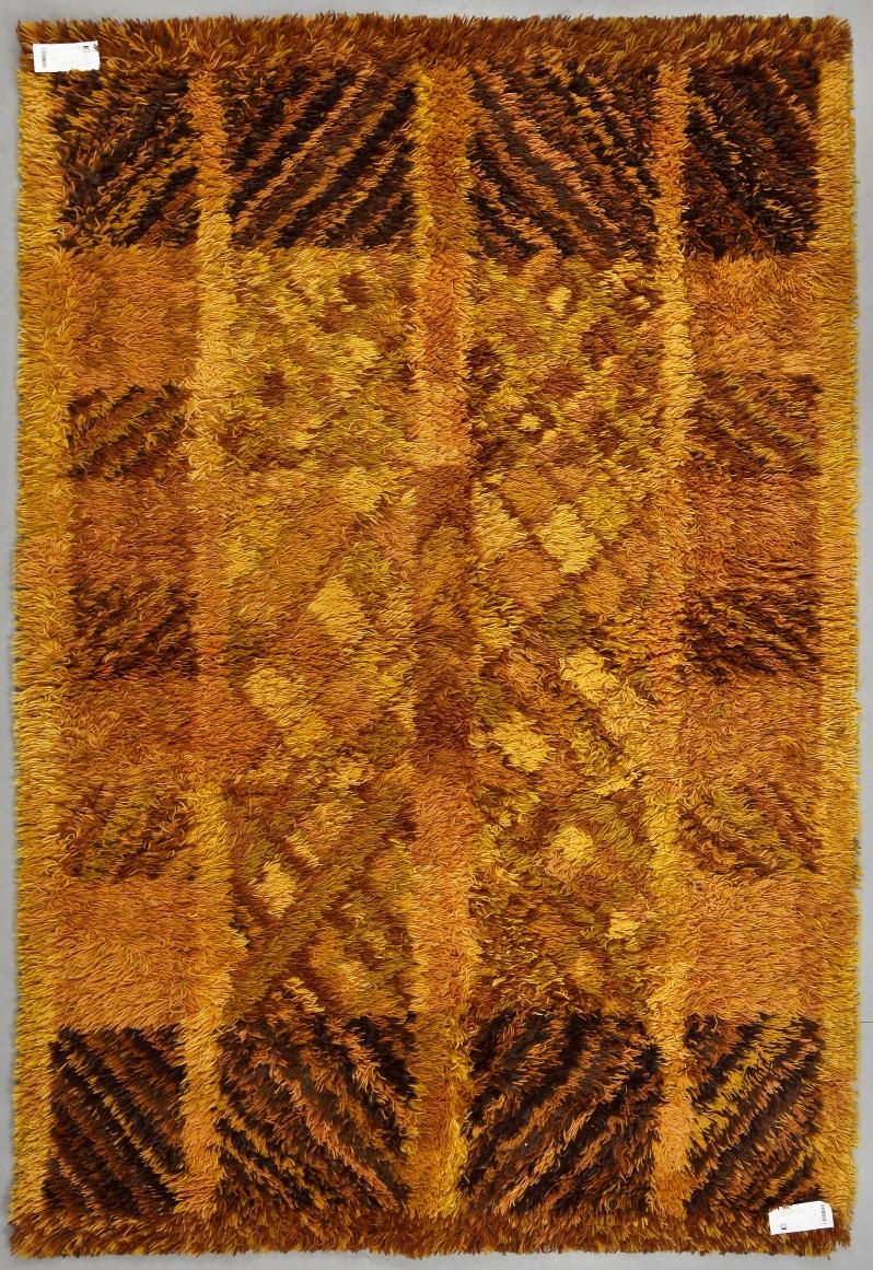 "71""Bjälbo"", Marianne Richter, AB Wahlbecks fabriker, 1900-talets andra hälft. 200 x 140. Buk 4 28 12"