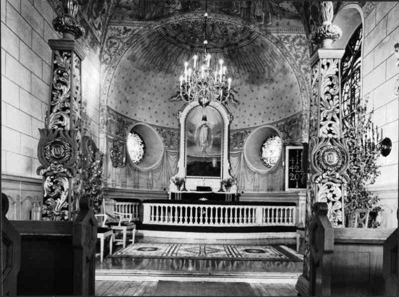 10.Söderala_kyrka kulturmiljöbild, Riksantikvarieämbetet via wikimeia commons before renovation