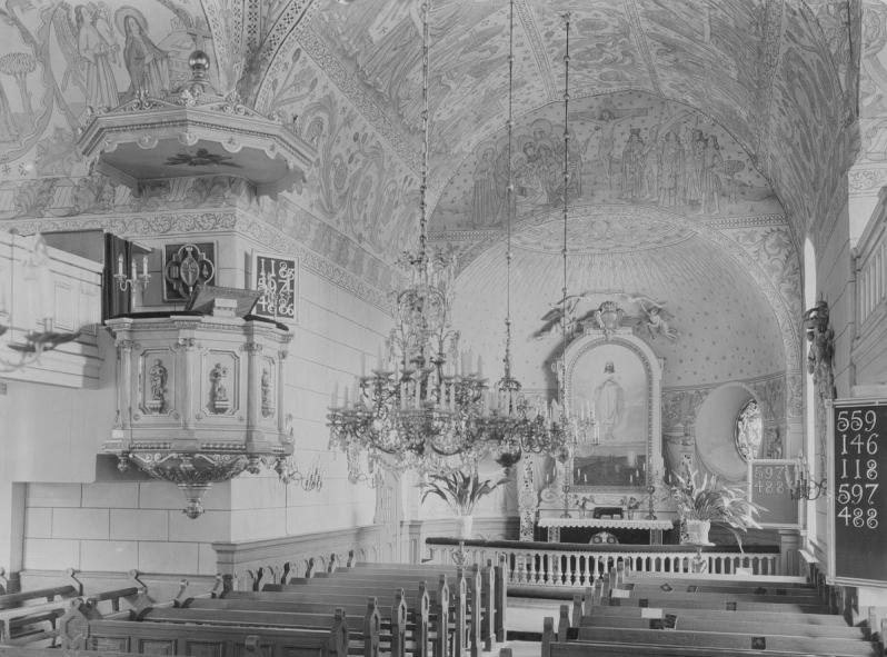 3.Soderala kyrka lansmuseet gavelborg 1926 via digitalt museum XLM.U01422