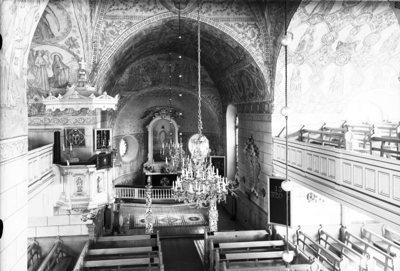 4.S;derala kyrka 1958 länsmuseet gävelborgXLM.FLYG1260