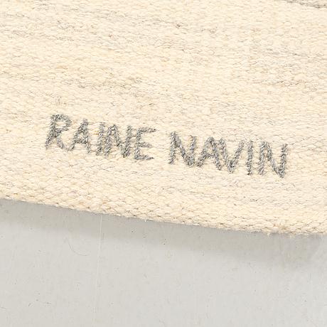 """21 VÄVNAD, Raine Navin, SKLH 71 (Södra Kalmar Läns Hemsöljd). 180 x 180 cm. """"Snövidd""""."""