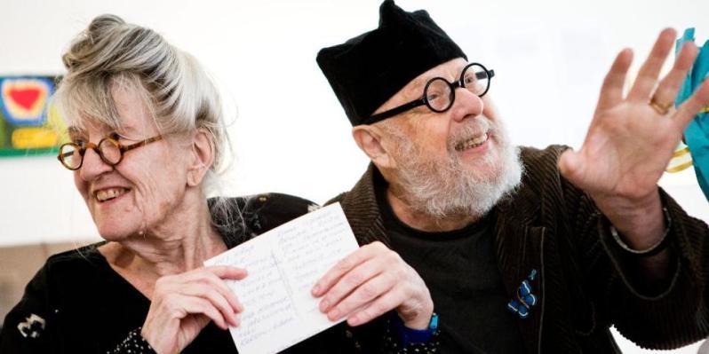 30. Raine and Gunilla in Östra Småland Nyheterna .se photo Paulina Neuding 12-23-17