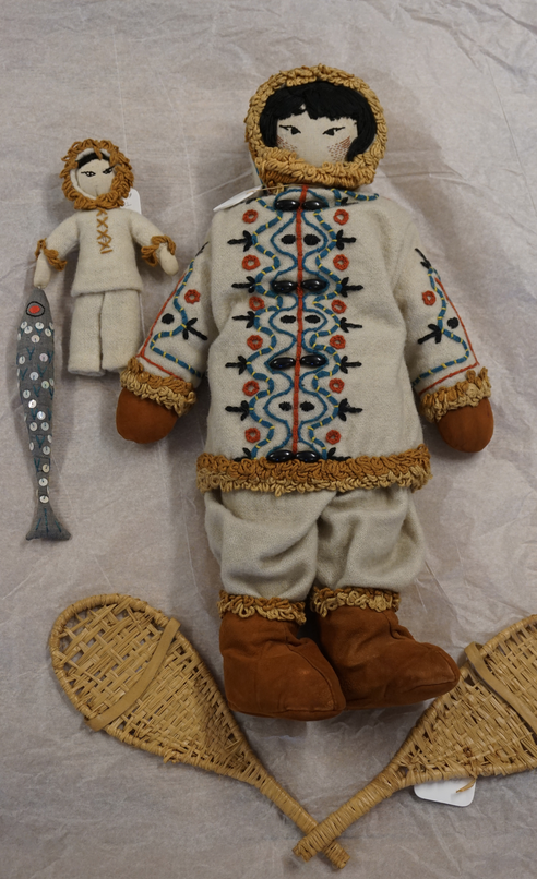 44b Eskimo Doll 1956 Glasgow Sch of Art archives ref NMC:1544 Donated by Eliz Geddes assoc with NDSScreen Shot 2019-03-16 at 5.40.49 PM