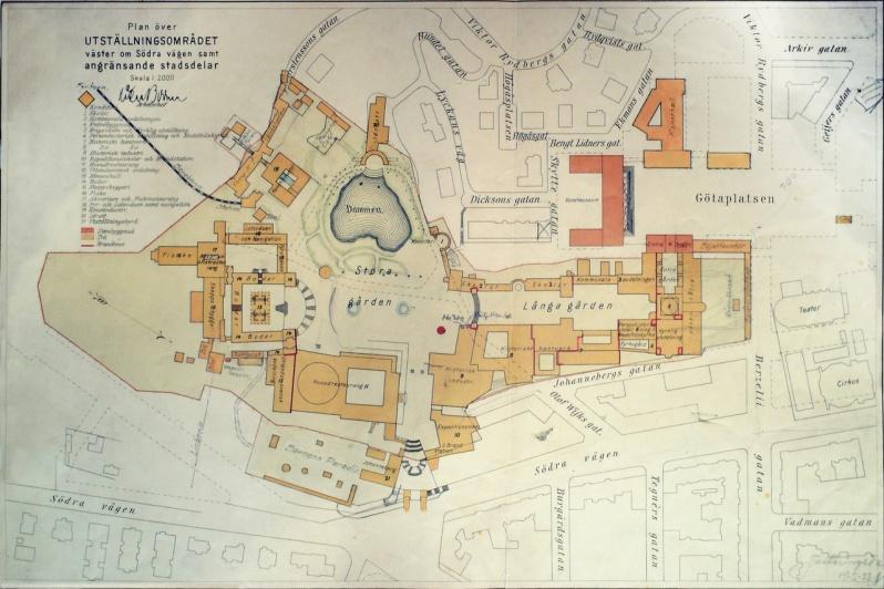25a jubileumsutstc3a4llning-genplan source probably Goteborgs stadsarkiv