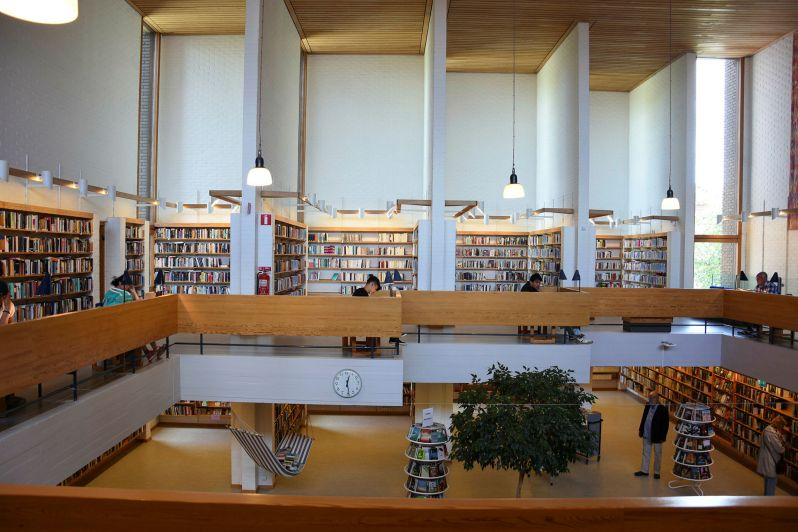 7. Helsingborg library interior photo from hd.se foto Hannah Rahlén