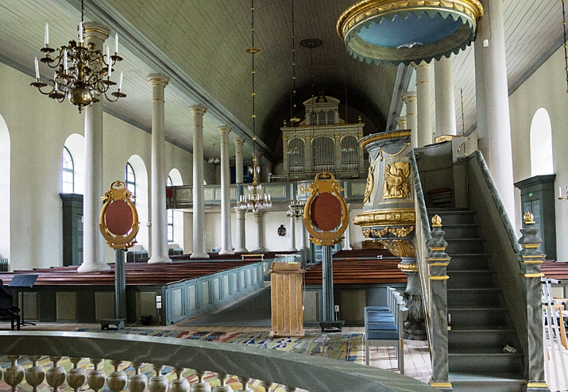13. 1958 Elias Myren foto Ramsele kyrka from Spaning med foto by EM