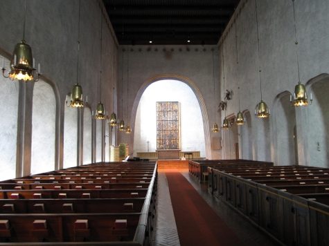 19 Essinge kyrka Stockholm built 1959 foto Cyrillius Johansson foto 2010Gert Ärnström 2010 KK