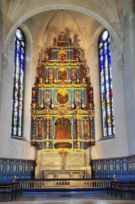 60 Falu Kristine church interior Janos Banan 7-14