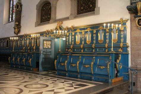 61 Falu Kristine Church forto Geleja no kormatta but marble inlay floor