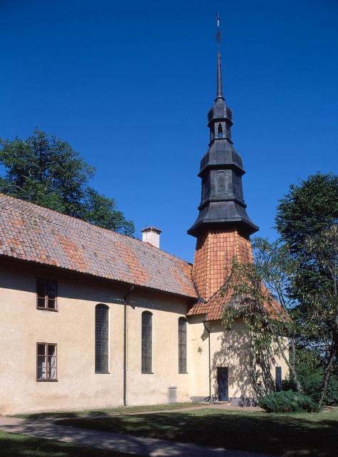 6. Stjarnorps kyrka foto Åke Johannson innan senaste restaureringen