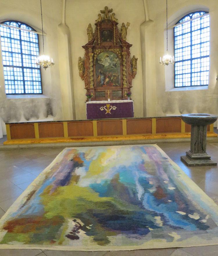 27fors-kyrka-2 from Textilla Inslag Birgitta Hagnell-Linden